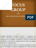 Clase Focus Group