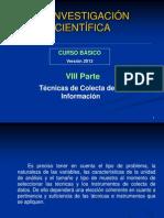 3 Técnicas de Colecta de Datos 2013