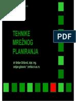 UP - VI - Tehnike Mreznog Planiranja - Mrezni Dijagrami 1