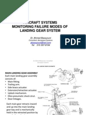 Monitoring Landing Gear System   Landing Gear   Aeronautics