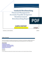Accounts Payable and Expense Reimbursement Sample Report