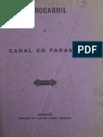 Ferrocarril y Canal de Panama 1884