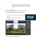 PHANTOM VISION FC200 Lens Profile and Instruction En