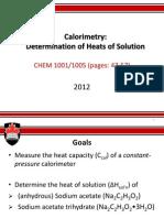 2. Calorimetry (2)