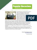 Gacetilla de Prensa del Frente Popular Necochea 06