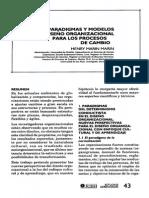 Paradigmas y Modelos de Diseño Organizacional