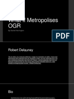 What if Metropolises OGR