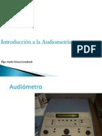 Audiometría