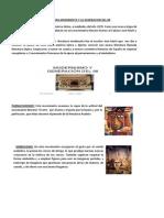 La Literatura Modernista y La Generacion Del 98