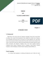 Global Research Vol II Iss I 2
