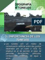 topografia de tuneles
