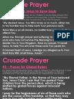 CRUSADE PRAYERS