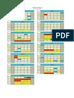 UniKL MIAT BAvM 2014 Academic Calendar