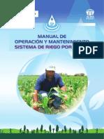 Manual de Operacion y Mantenimiento de sistemas de riego tecnificado