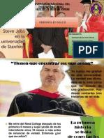Discurso de Steve Jobs en La Universidad De
