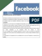 interpretacion del uso de facebook
