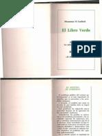 Gadhafi - El Libro Verde