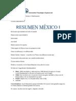 Resumen Mexico 1
