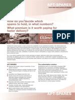 Evaluacion Costo Riesgo Repuestos