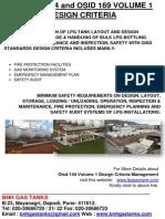 OISD 144 and OISD 169 Volume 1 Design Criteria