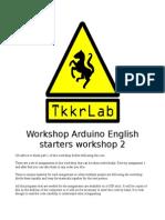 Arduino Workshop V2 English