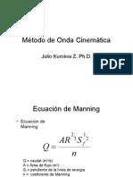 Metodo de la onda cinematica