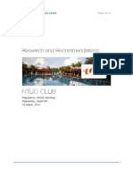 NTUC Club Brand Research
