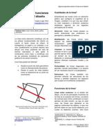 Cualidades y funciones de la línea en el diseño