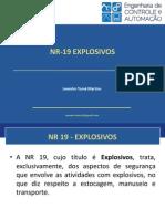 Apresentação NR-19
