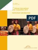 Participant Information - Hội an 2015