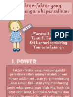 Faktor-faktor Yang Mempengaruhi Persalinan