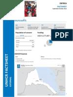 UNHCR Eritrea - Operation Fact Sheet - Sep-Oct 2014