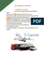 Transportation Lane Configuration in SAP SNP