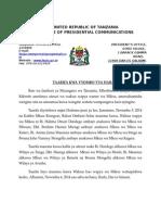 Rais - Wakuu wapya wa Mikoa.doc