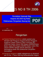 Perpres No 8 Th 2006