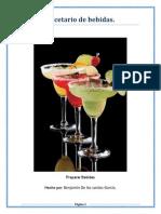 Recetario de Bebidas