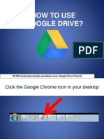 How to Use Google Drive?