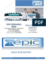 EPIC RESEARCH MALAYSIA - Daily KLSE Malaysia report of 6th November 2014.pdf