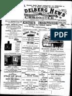 Heidelberg News July 1900