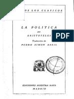 Politica Aristo Tele s