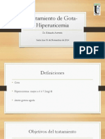 Gota Antihiperuricémicos