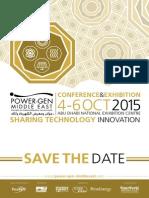 POWER GEN PGME15 Announcement Flyer
