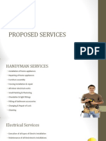 List of Handyman Services