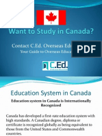 Want to Study in Canada?