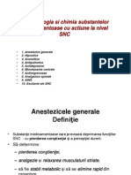 Farmacologia Si Chimia Substantelor Medicamentoase Cu Actiune La Nivel SNC