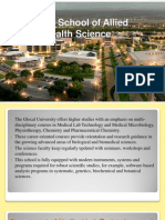 Glocal School of Allied Health Science