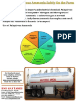 Using Anhydrous Ammonia Safely on the Farm