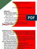 Sistem Perpajakan Di Indonesia Dan Ketentuan Umum Perpajakan [Compatibility Mode]