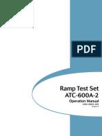 IFR ATC-600A Portable Ramp Test Set Operation Manual