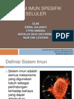Sistem Imun Spesifik Seluler